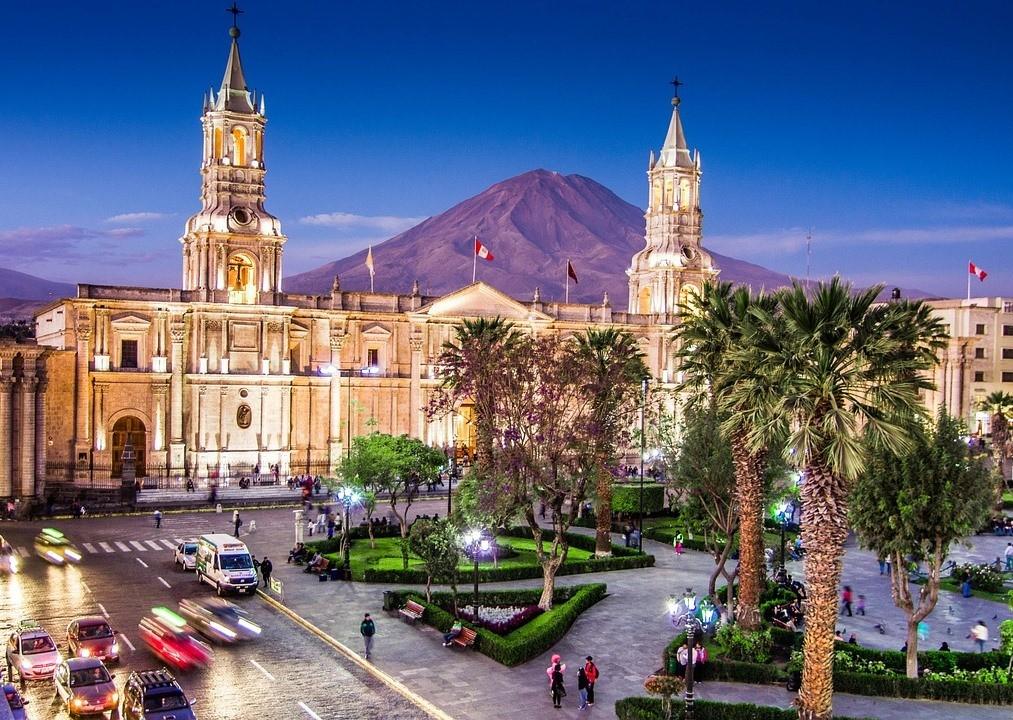 Оружейная площадь, Арекипа, Перу