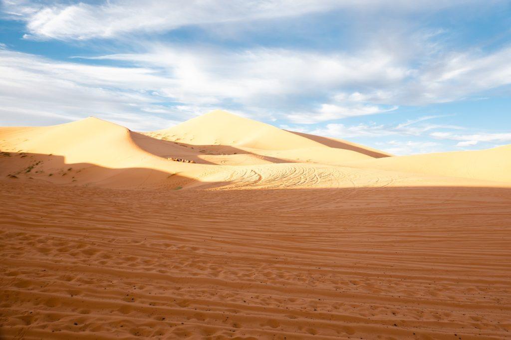 Песчаные дюны Мерзуга, Марокко