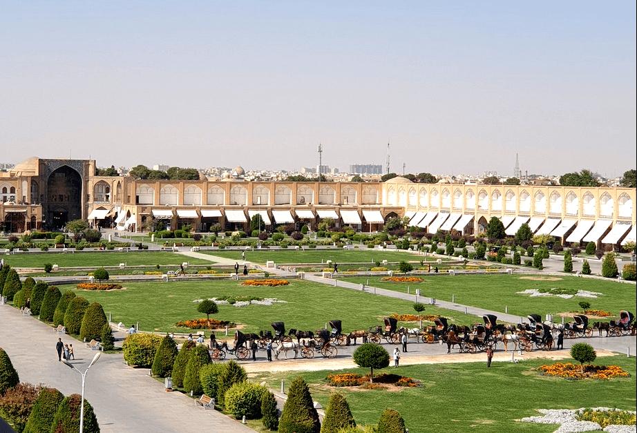 Площадь Имама, Ифсахан