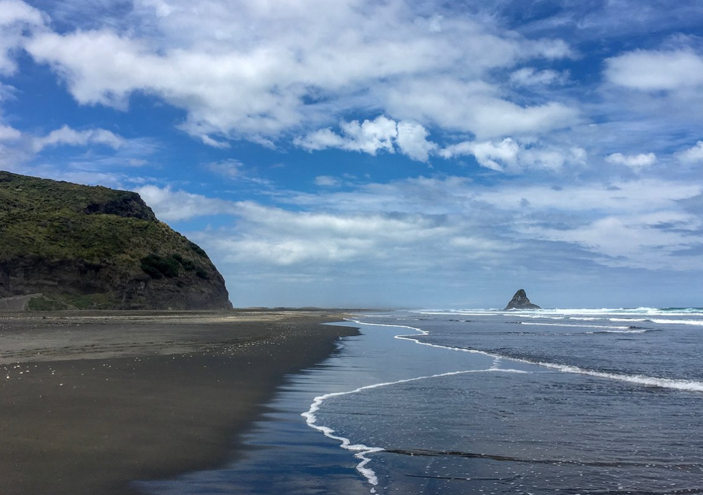 Пляж Карекаре, Новая Зеландия