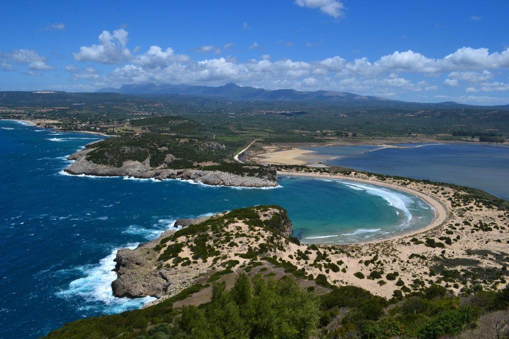 Пляж Войдокилья, Пелопоннес, Греция