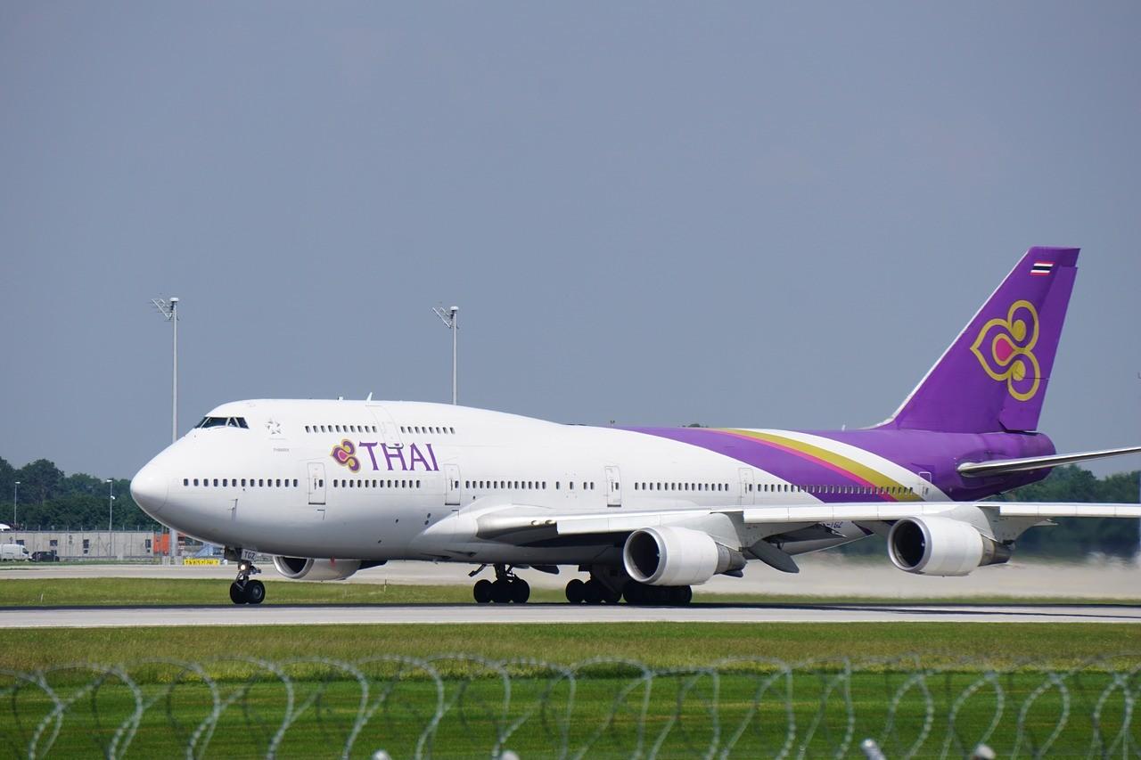 самолет в Таиланде