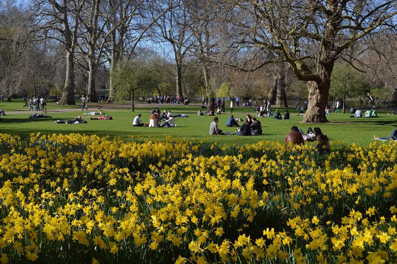 Сент-Джеймс Парк, Лондон, Великобритания