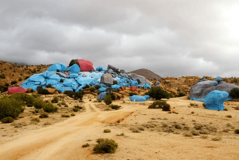 Скалы Тафраут, Марокко