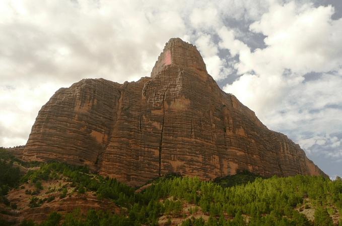 Соборная скала Имсфран, Марокко