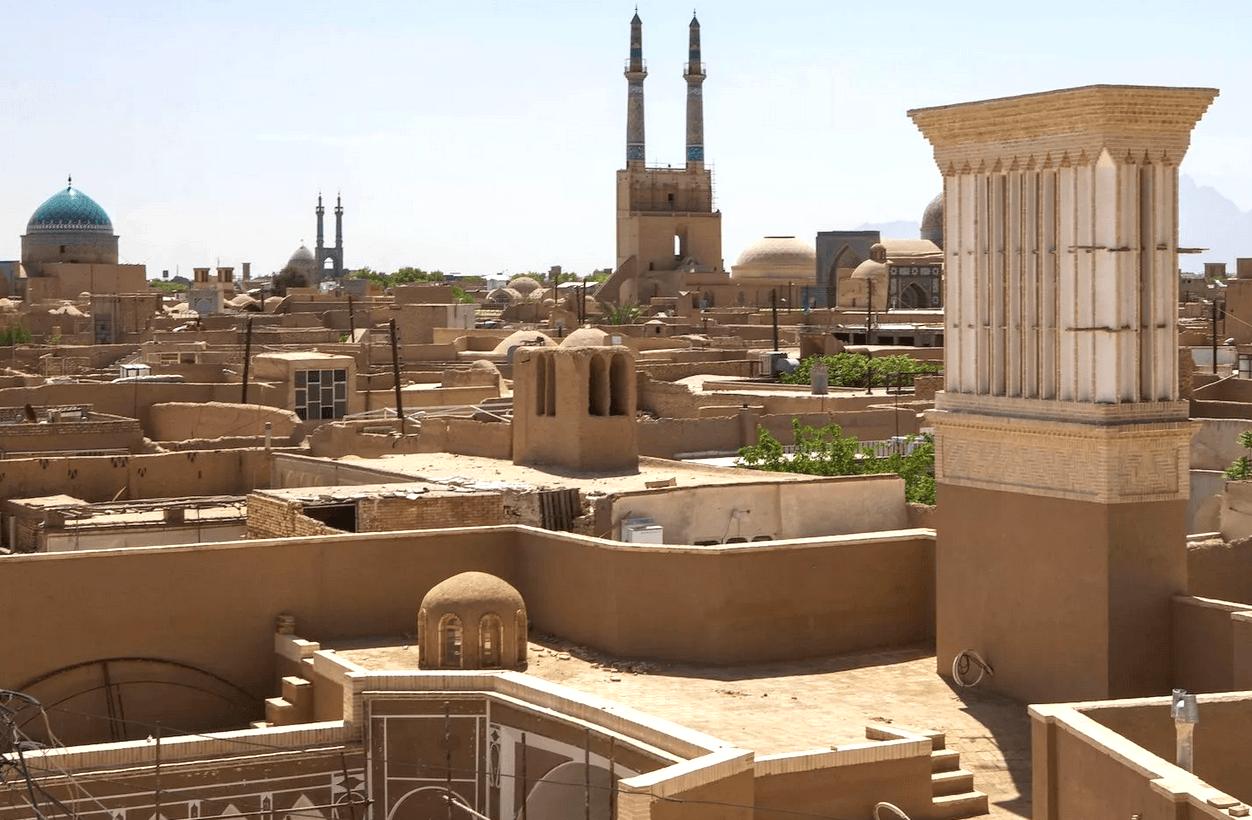 Старый город в Йезде, Иран