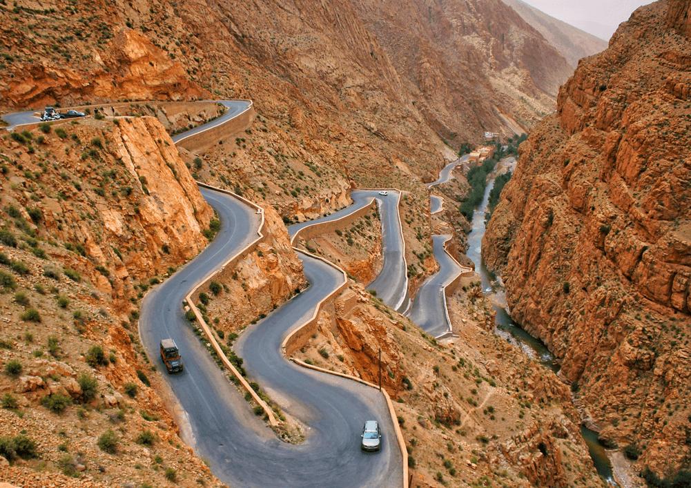 Ущелья Дадес, марокко