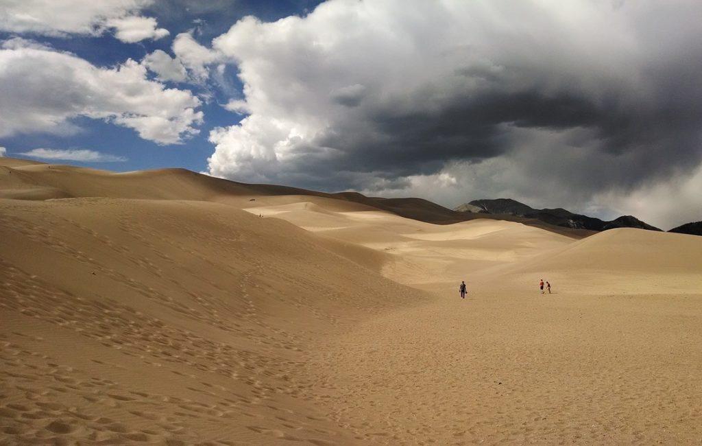 Великие Песчаные Дюны, Колорадо, США