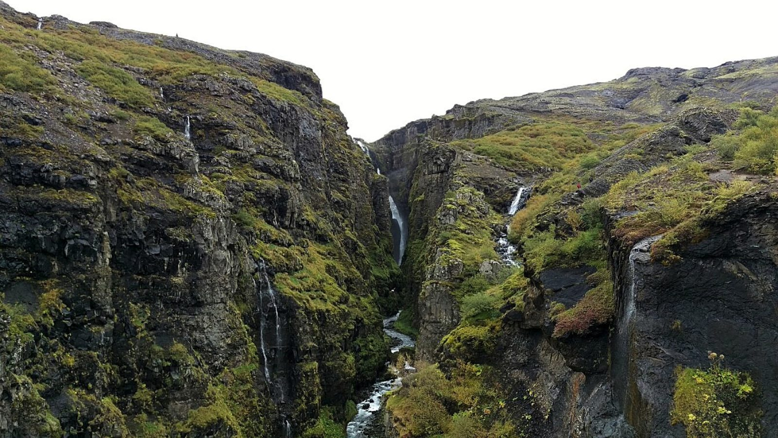 Водопад Глимур, Исландия