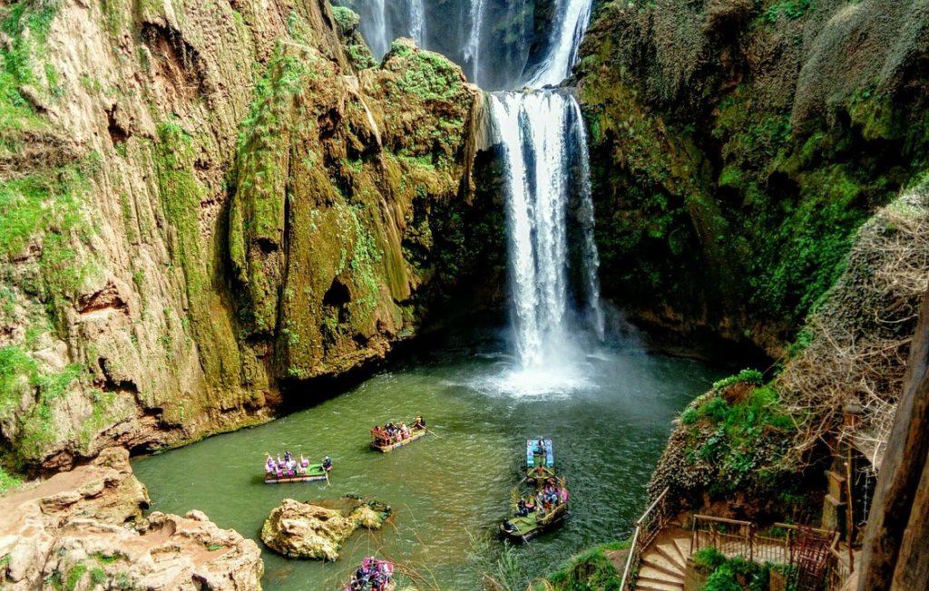 Водопады Узуд, Марокко