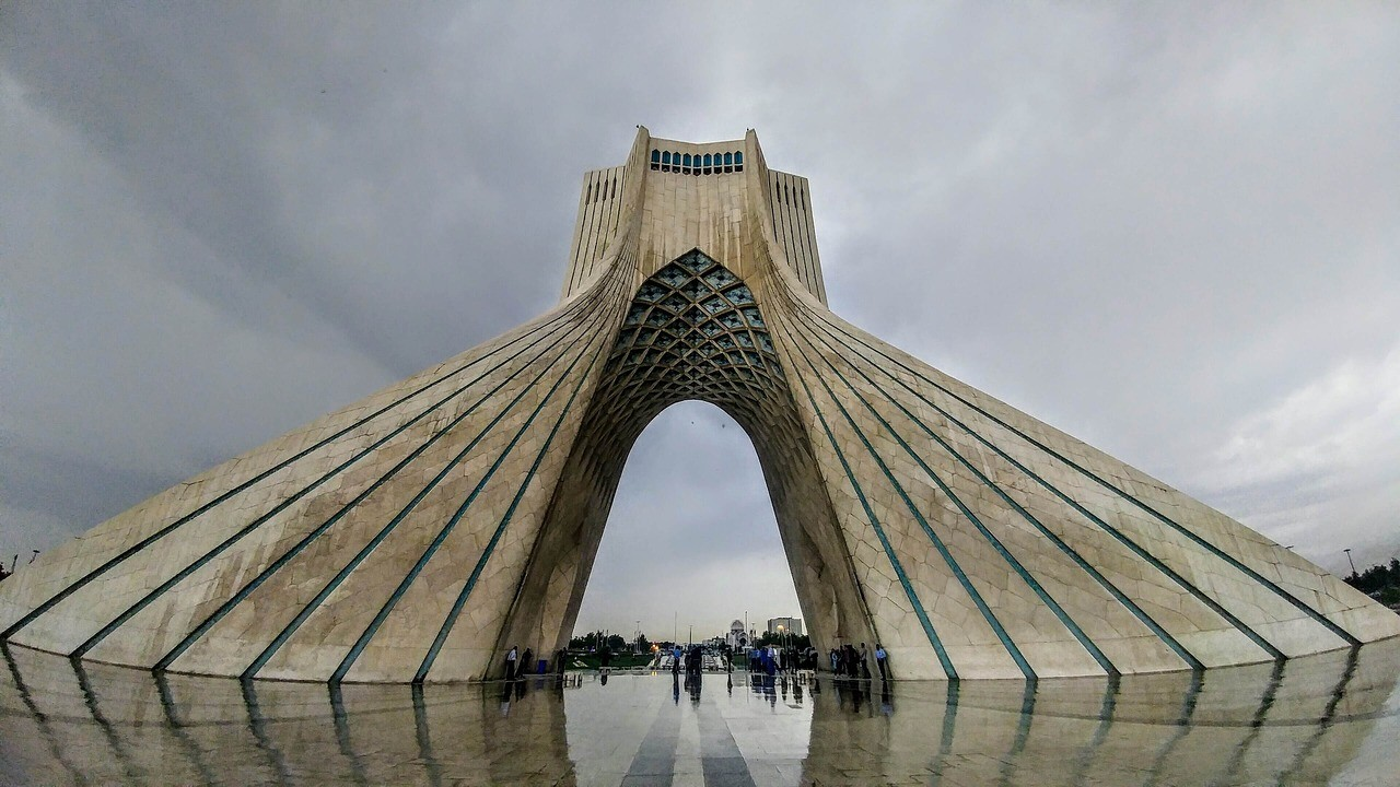 Архитектура Ирана тегеран