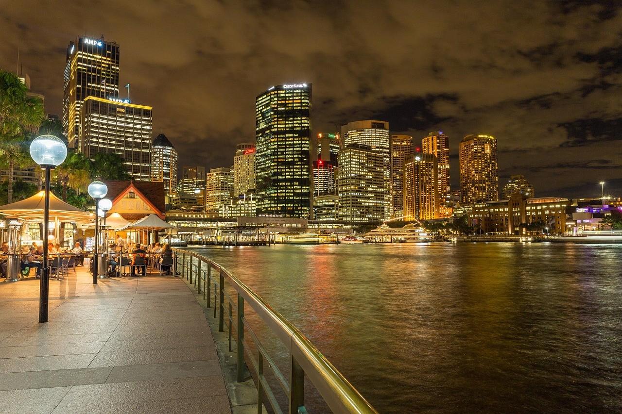 Ночной Сидней, Австралия