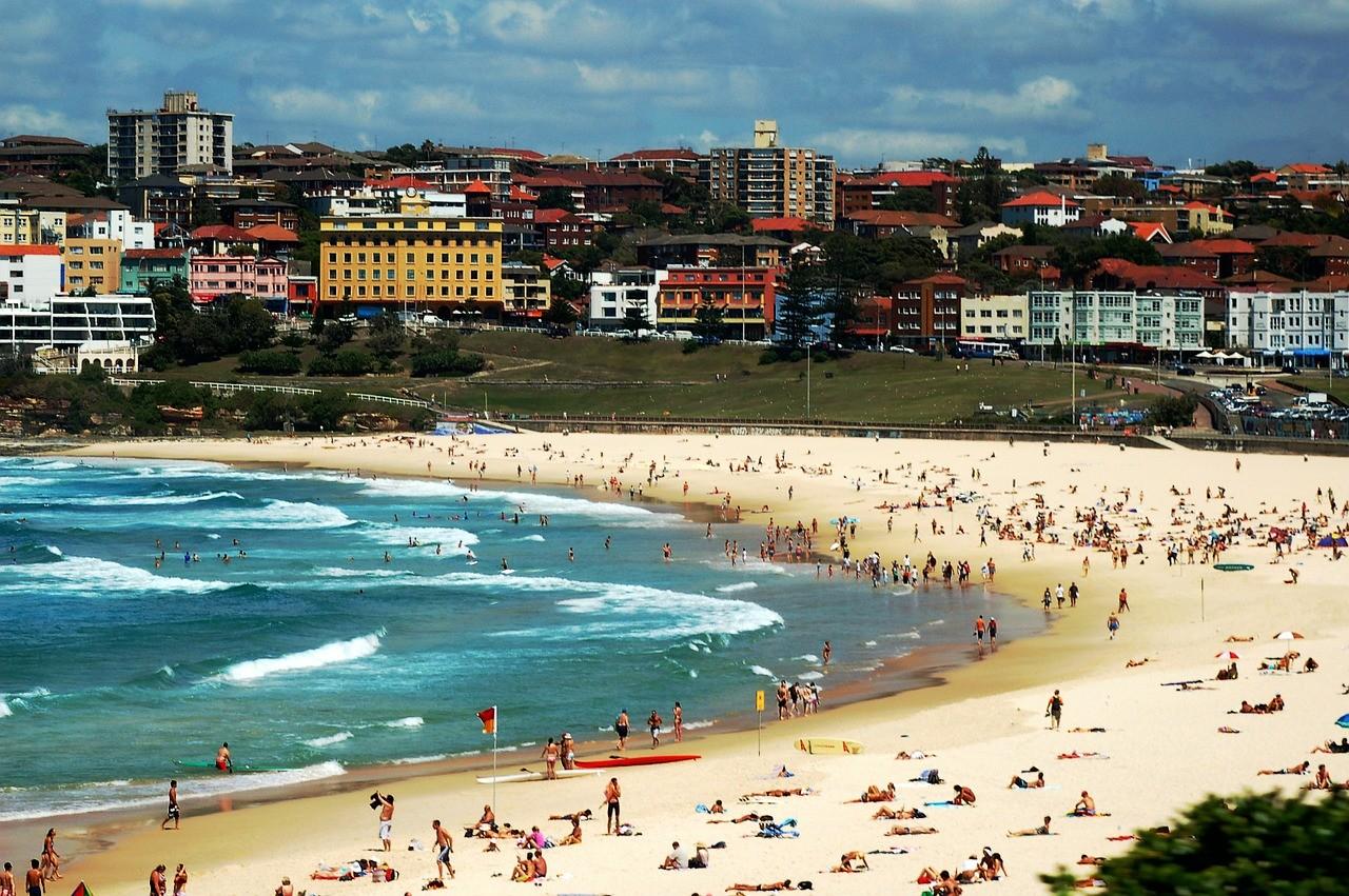 Пляж Бонди,Австралия, СИдней