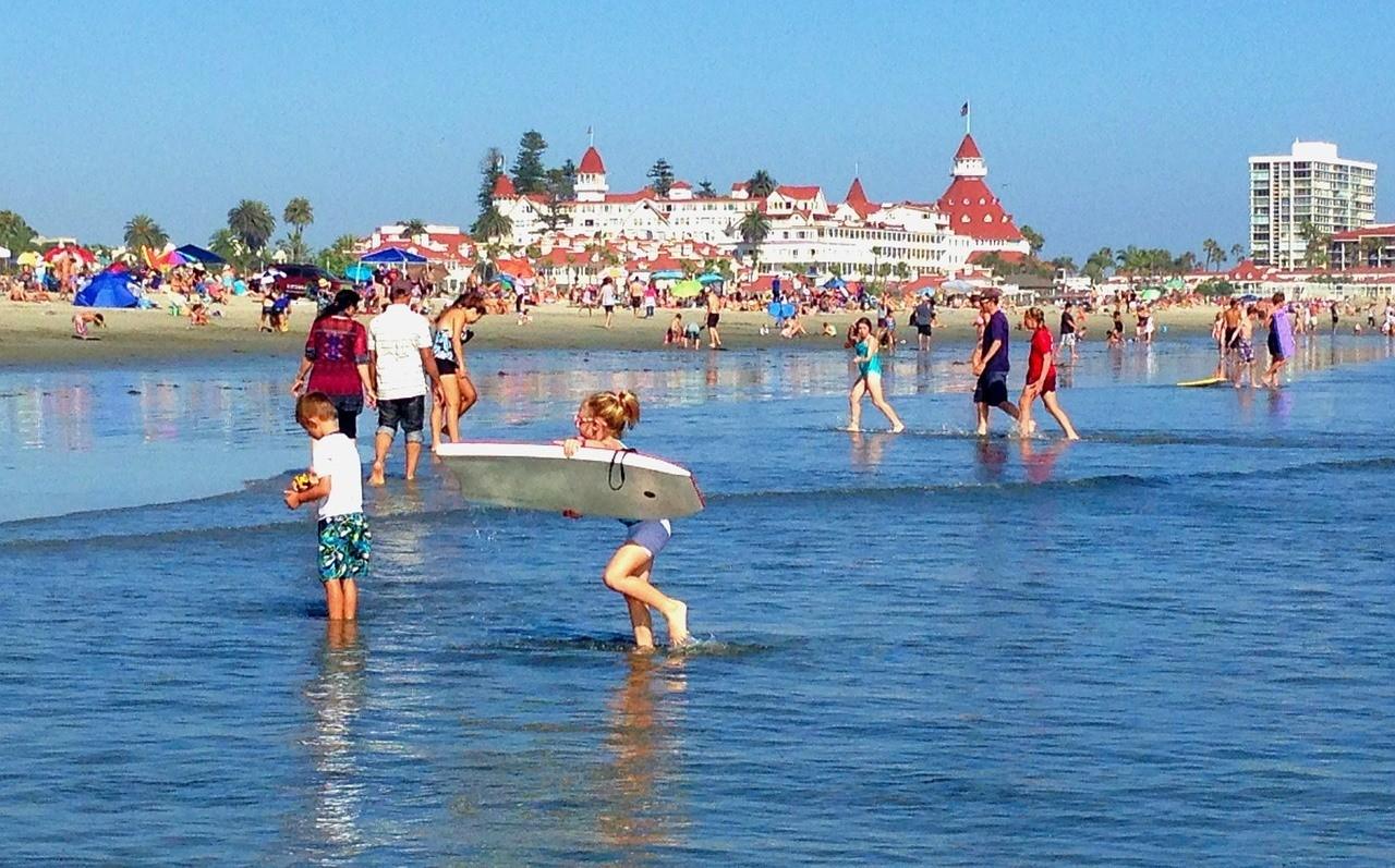 Пляж Коронадо - Сан-Диего, Калифорния, США