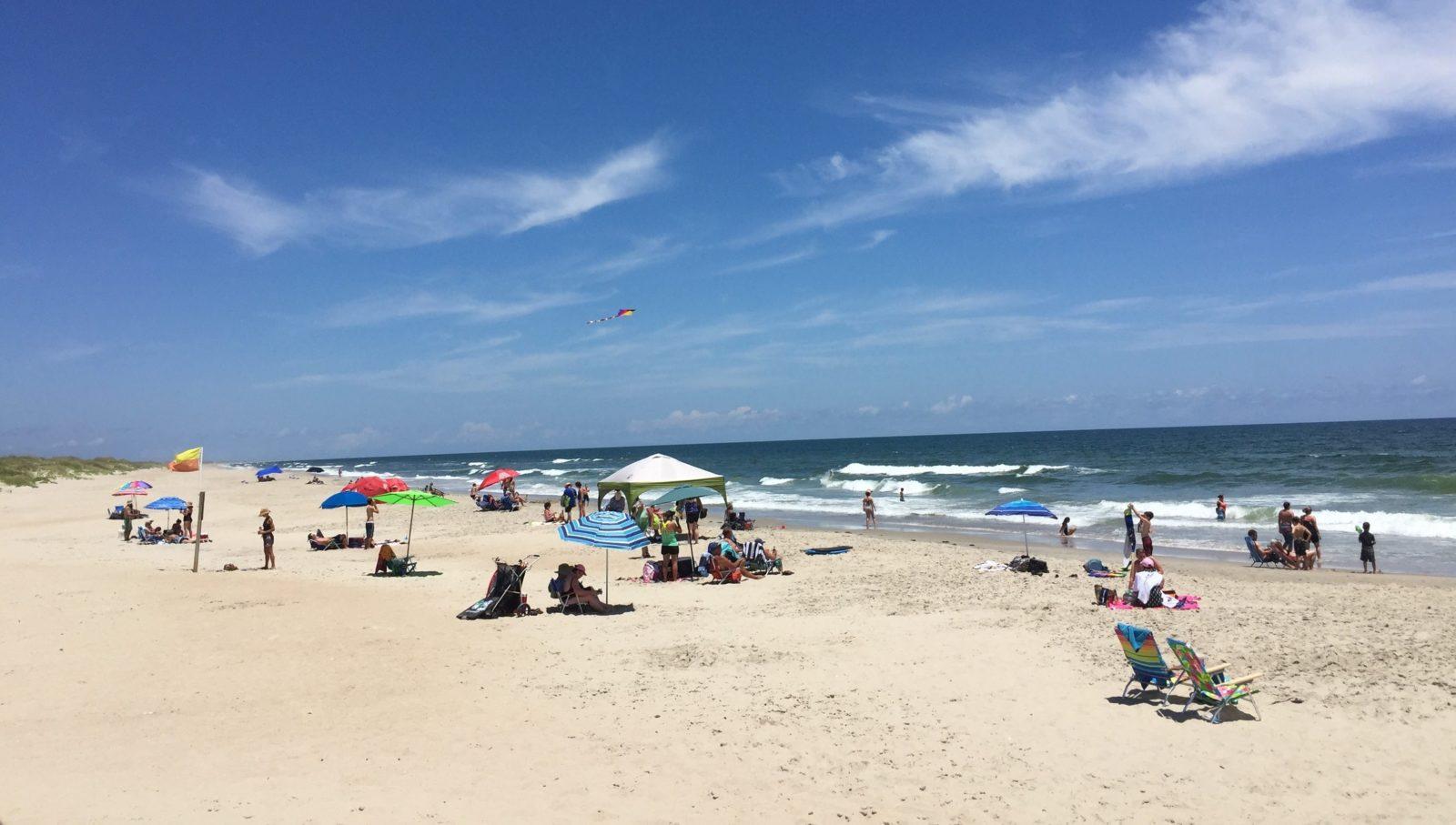 Пляж Окракок – Аутер Банкс, Северная Каролина