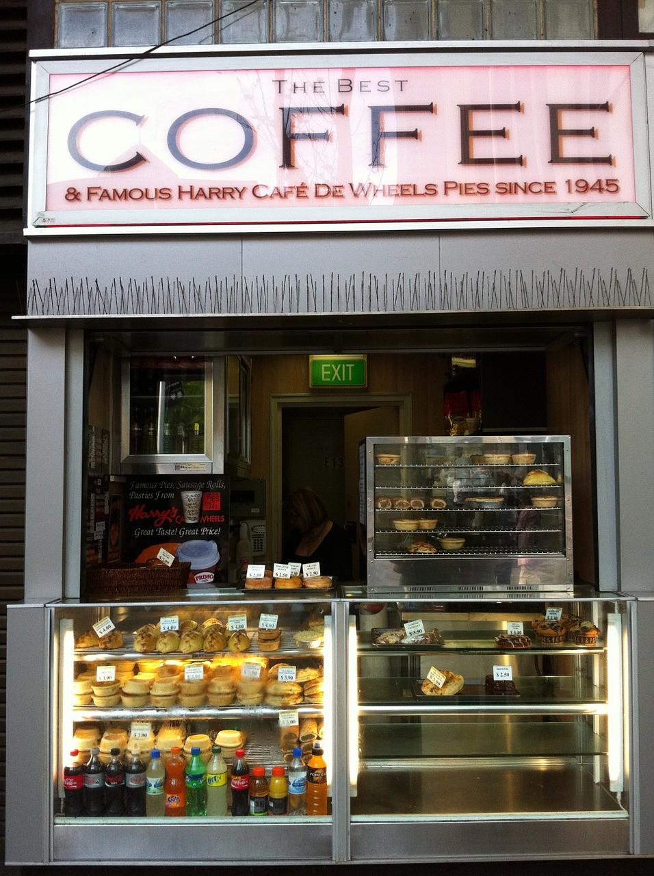 Уличное кафе в Сиднее, Австралия