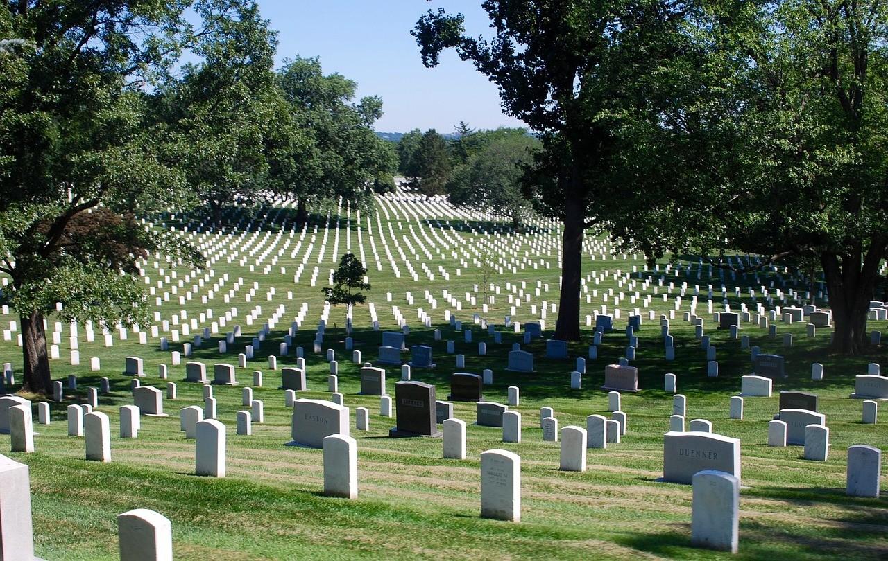 Арлингтонское национальное кладбище, Вашингтон, США