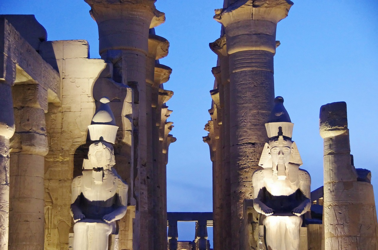 Храм Луксор, Луксор, Египет