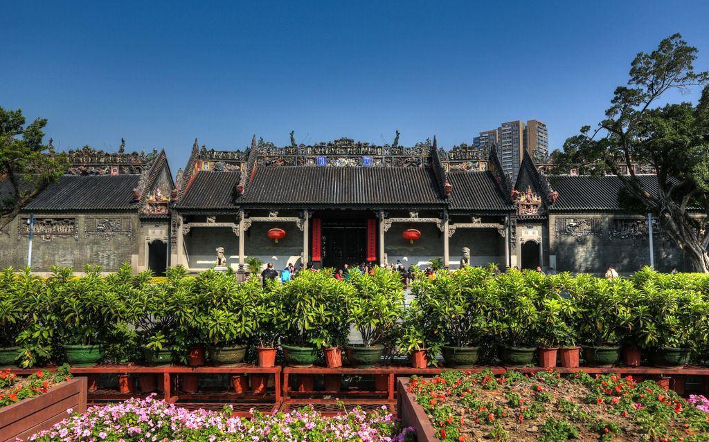 Храм предков семьи Чжэнь или Чжэньцзяцы, Гуанчжоу, Китай