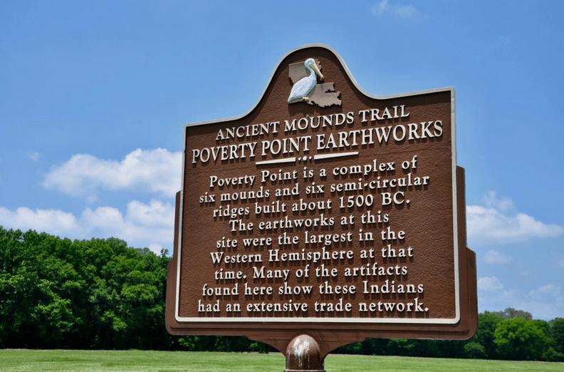 Курганы Поверти-пойнт, Луизиана, США