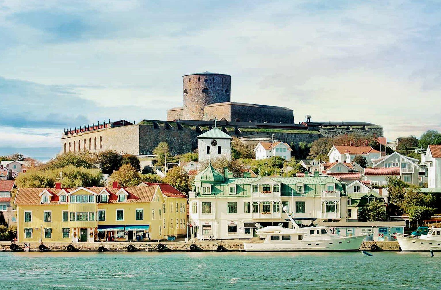 Марстранд, крепость Карлстен, Швеция