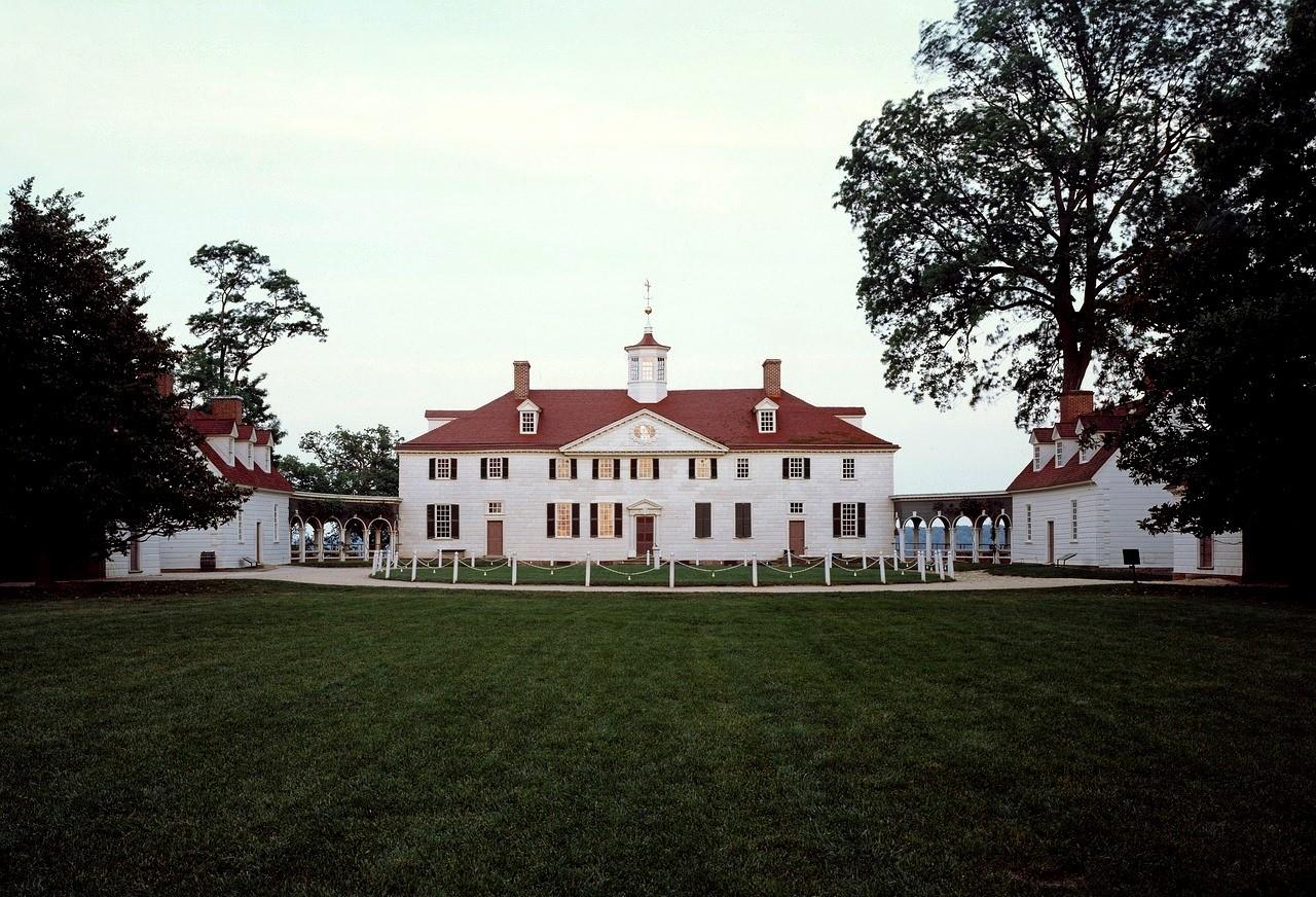 Маунт Вернон, дом Джорджа Вашингтона, Вирджиния, США