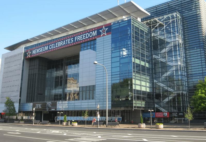 Музей журналистики и новостей (the Newseum), вашингтон, США