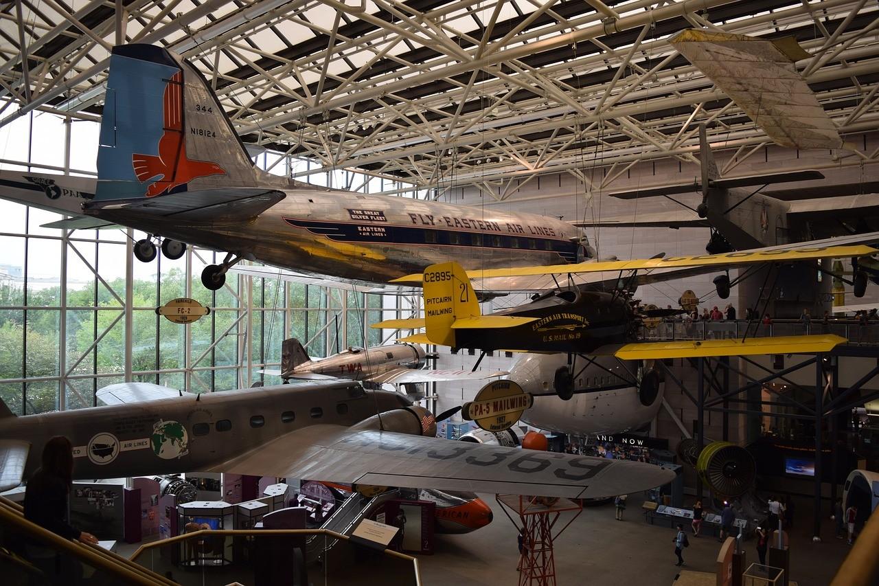 Национальный музей авиации и космонавтики, вашингтон, США