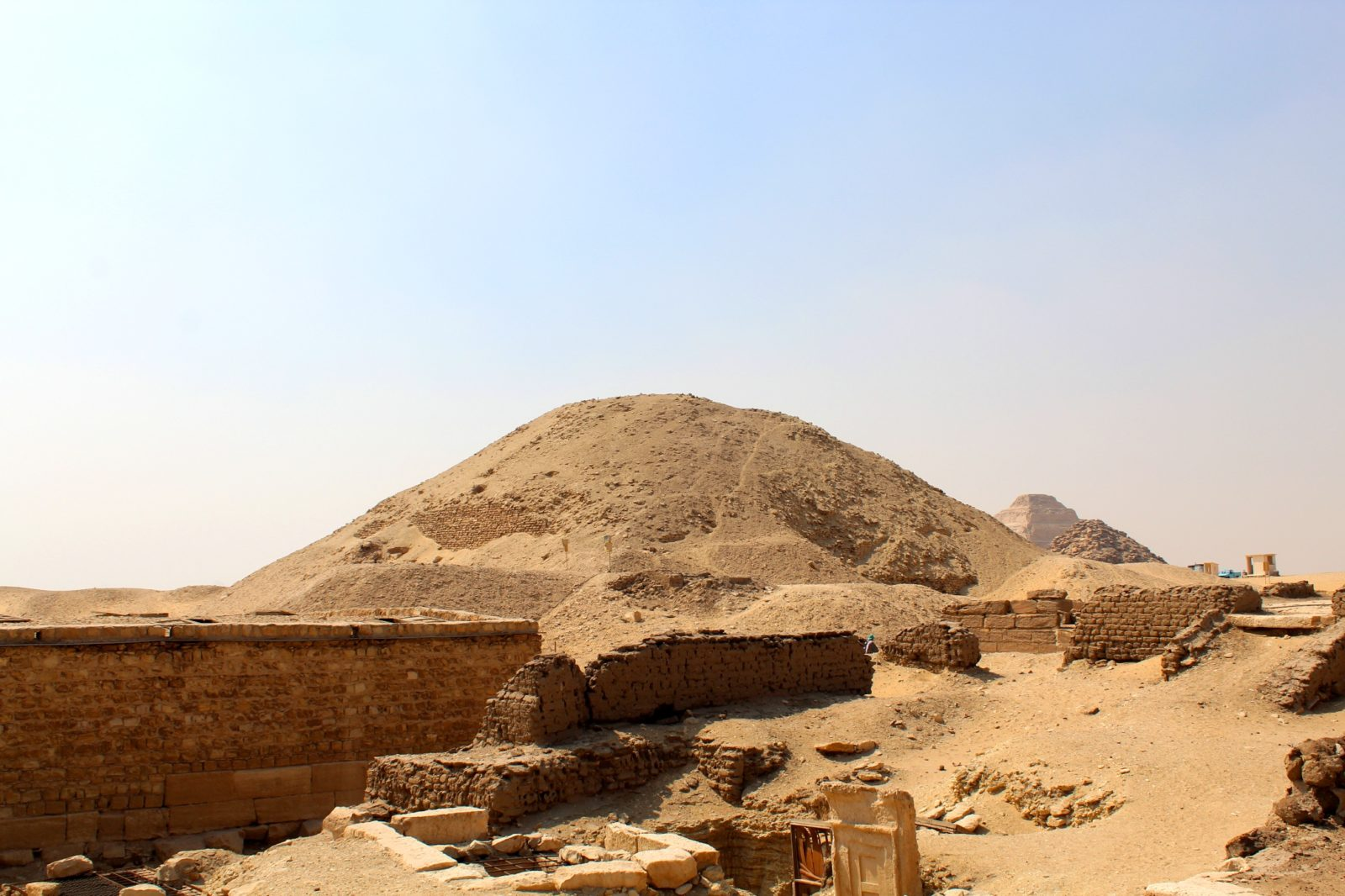 Пирамида Тети в Саккаре, Египет