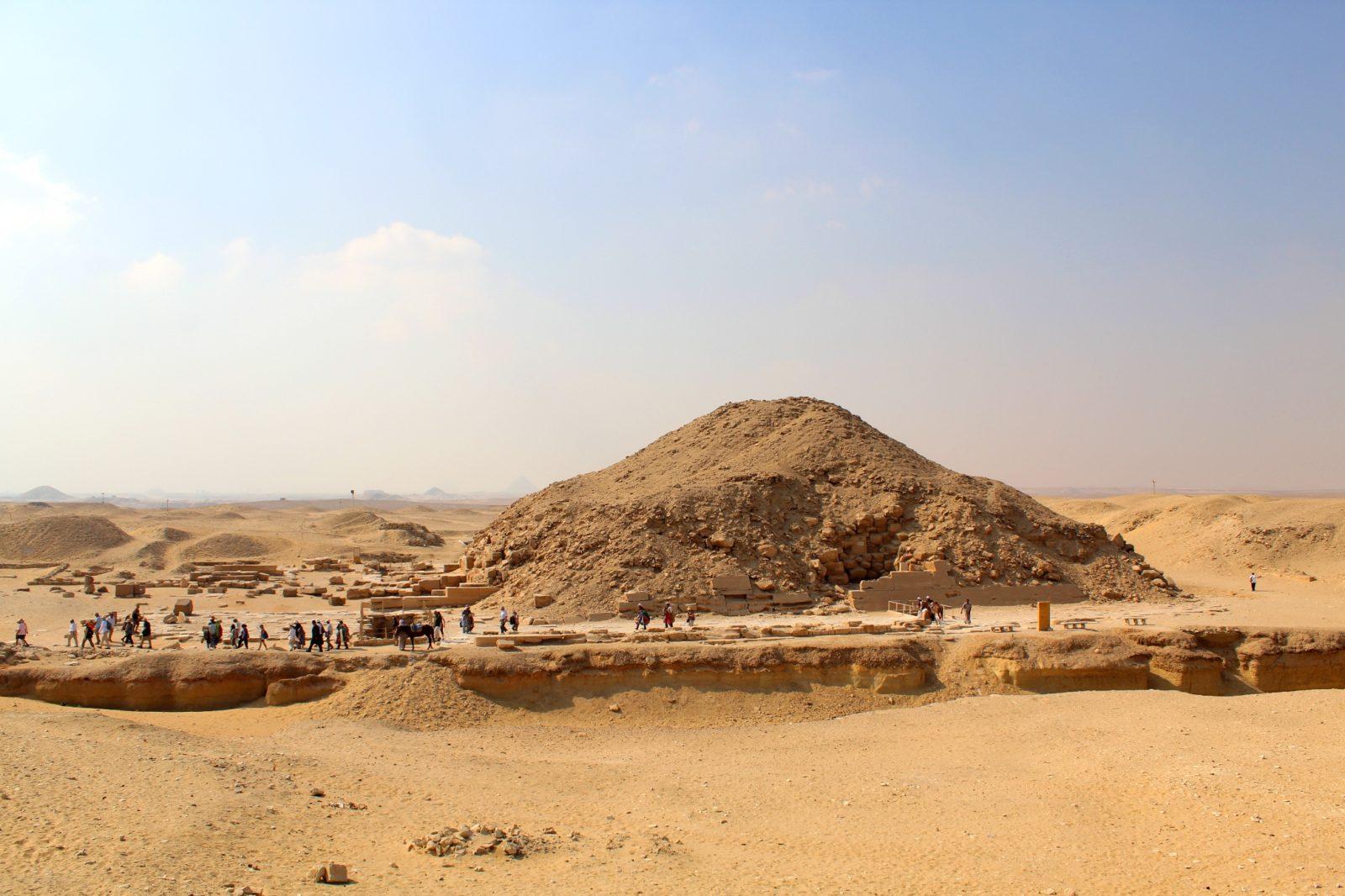 пирамида Унаса, Саккара, Каир, Египет