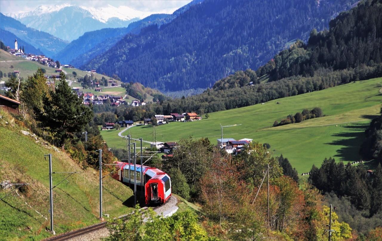 поезд в европе швейцария