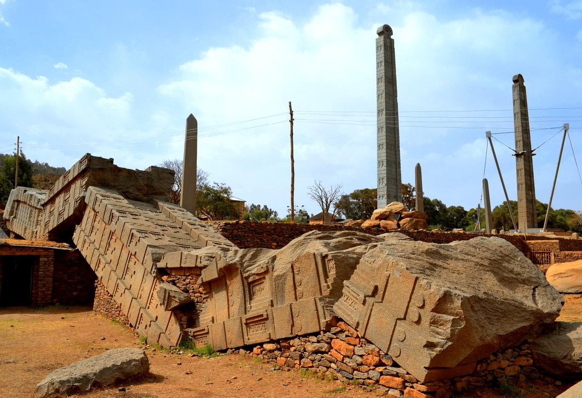 Руины Аксума, Эфиопия