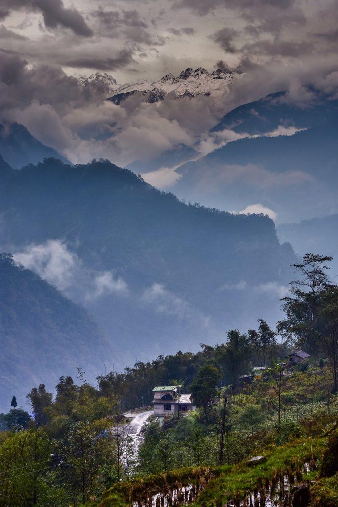 Сикким горы Индия