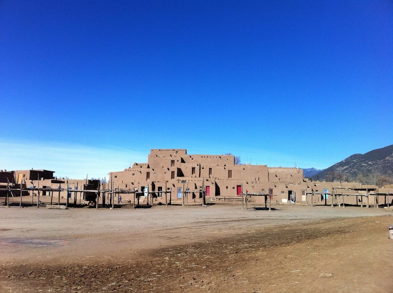 Таос Пуэбло, Аризона, США