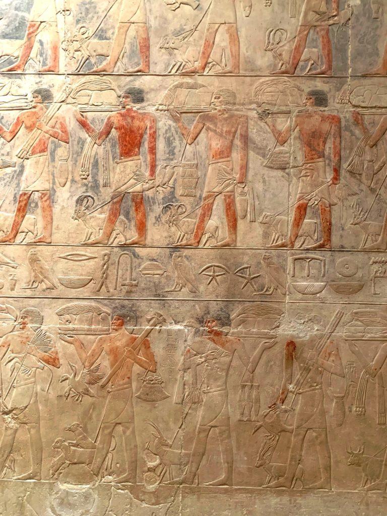 внутри мастабы, саккара, египет