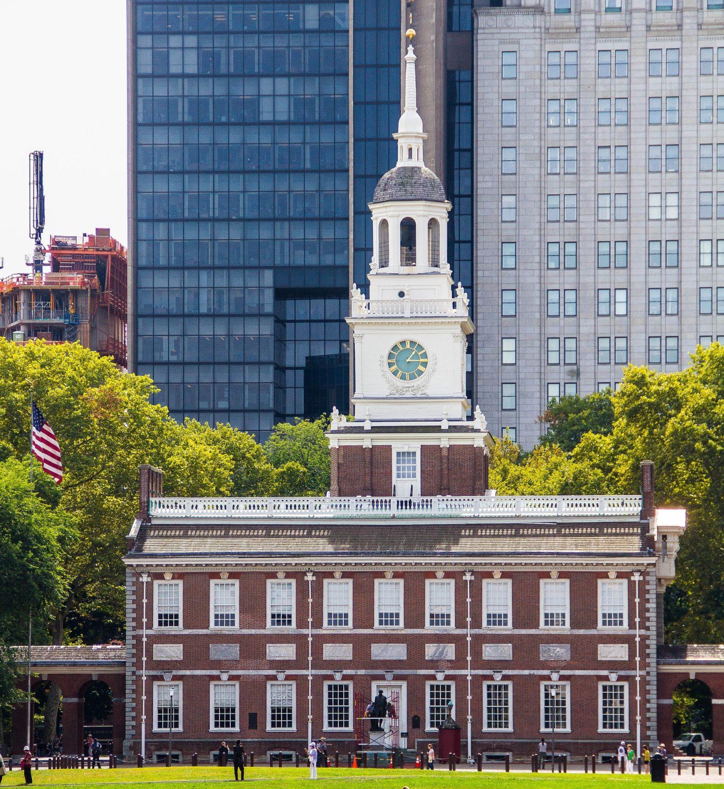 Зал Независимости, Филадельфия, США