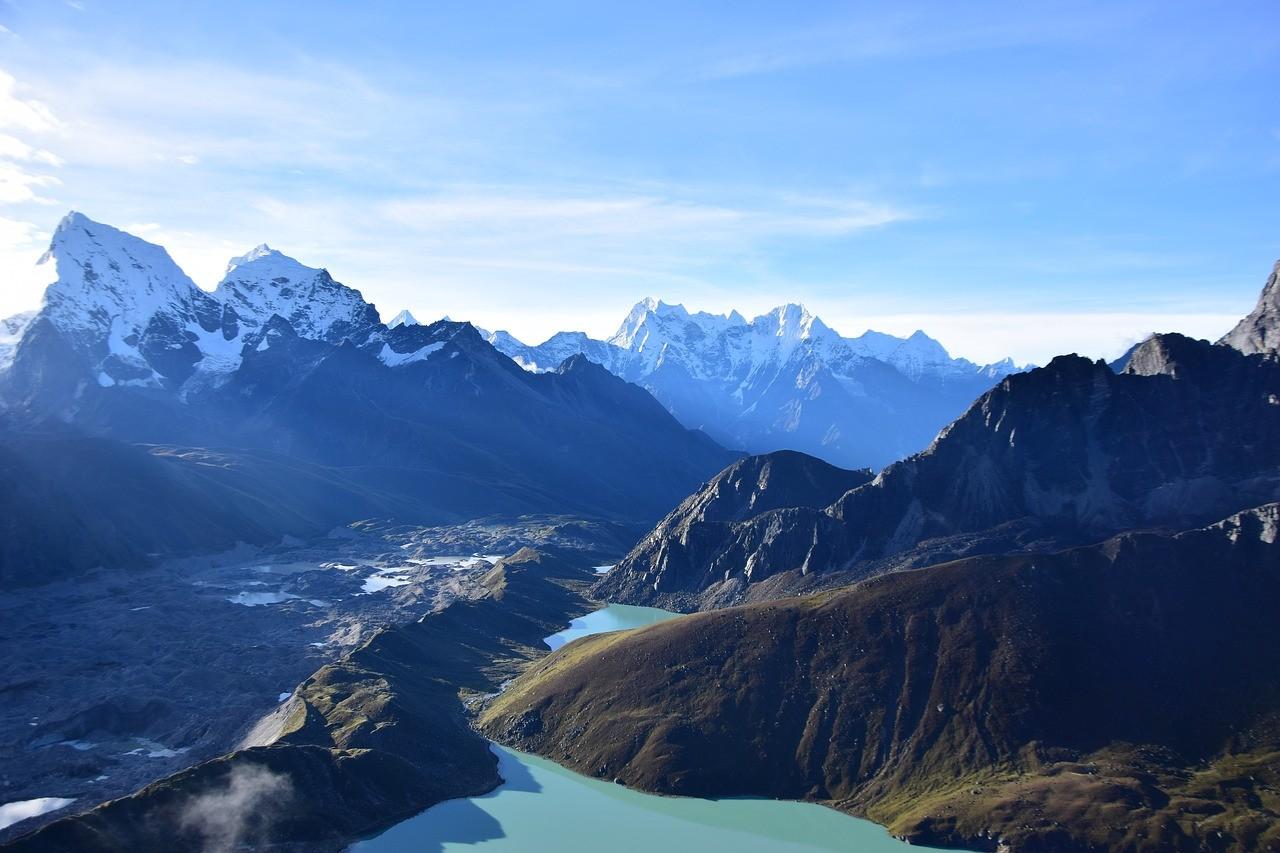 Базовый лагерь на горе Эверест, Непал