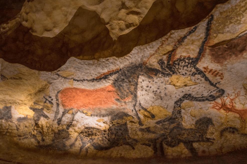 Дордонь, Франция, пещеры Ласко