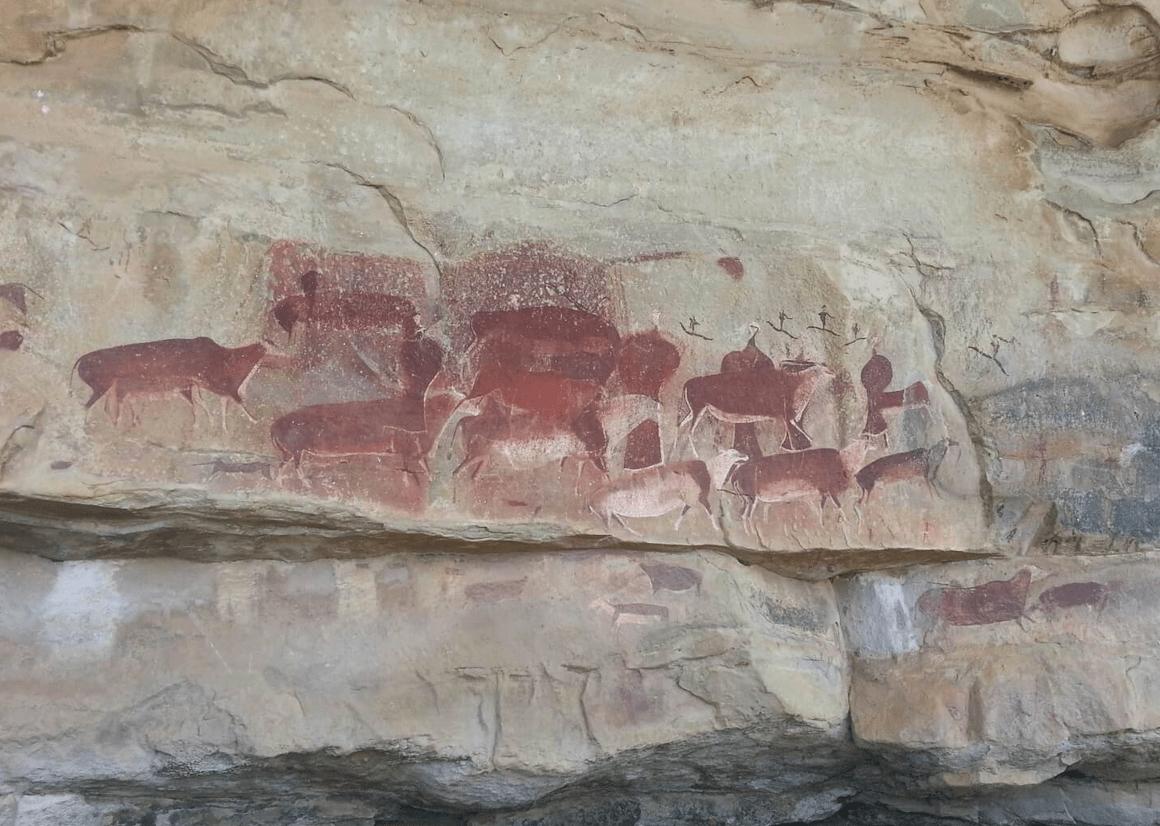 Дракенсберг, Южная Африка, Камберг