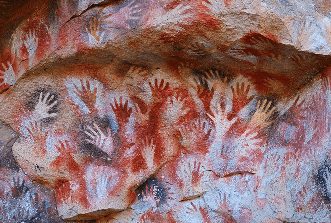 наскальные рисунки мира, пещера рук, аргентина