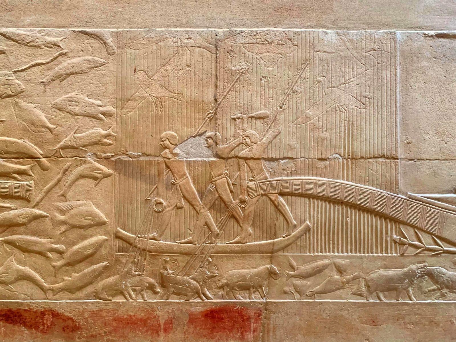 настенные рисунки, Саккара, Египет