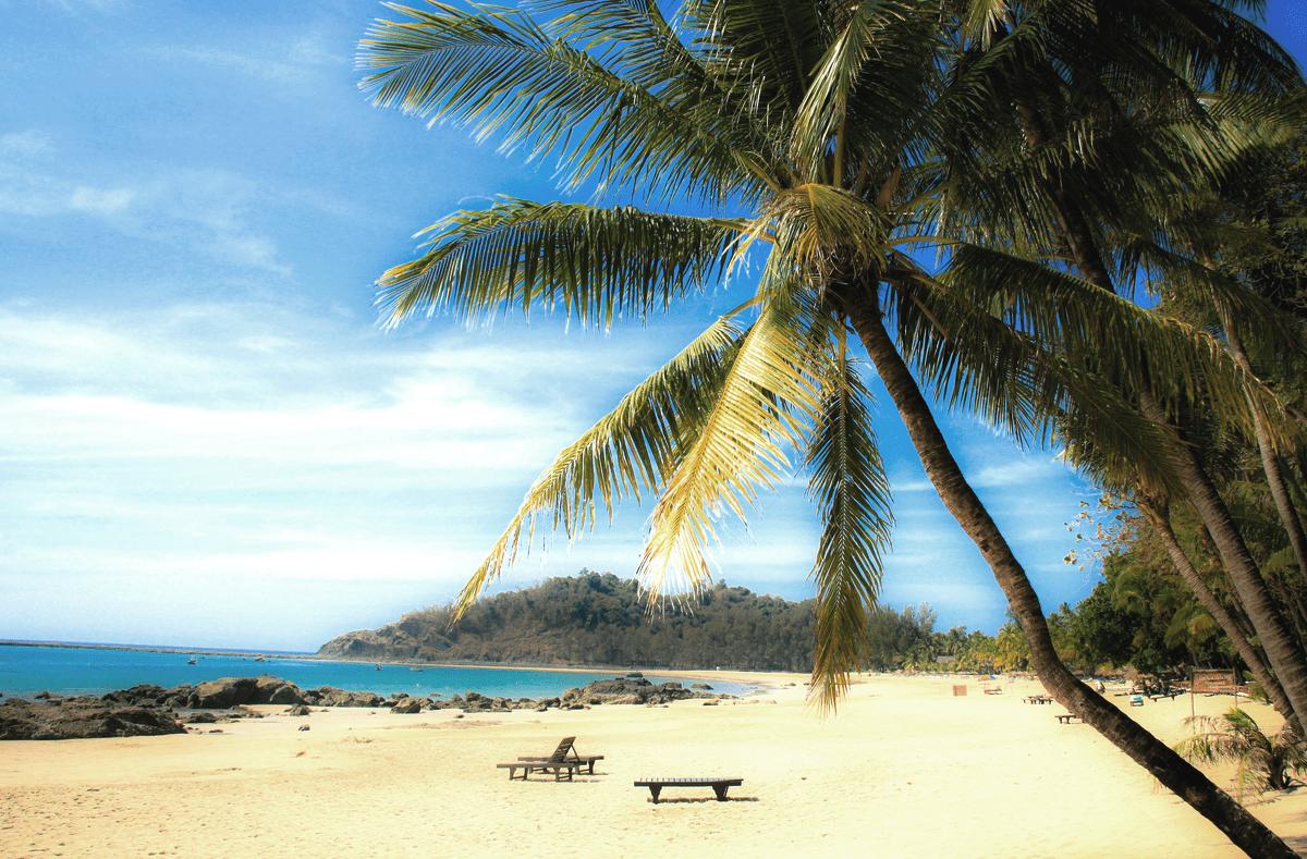 нгапали пляж, Мьянма
