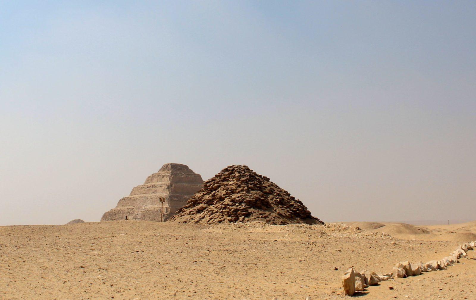 Пирамида Усеркафа, Саккара, Египет
