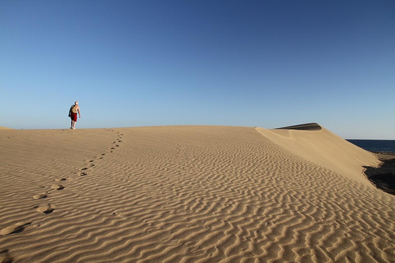 канары, отдых, дюны, гран канария