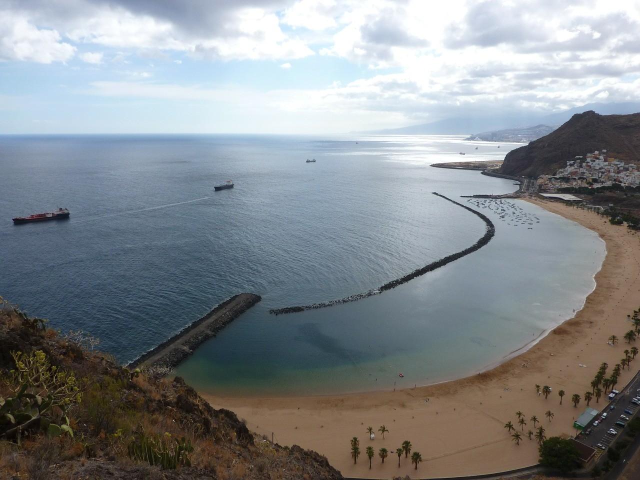 Тенерифе пляж, Канары, Испания