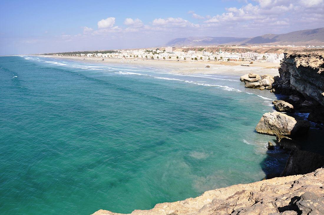 Береговая линия провинции Дофар ,Оман