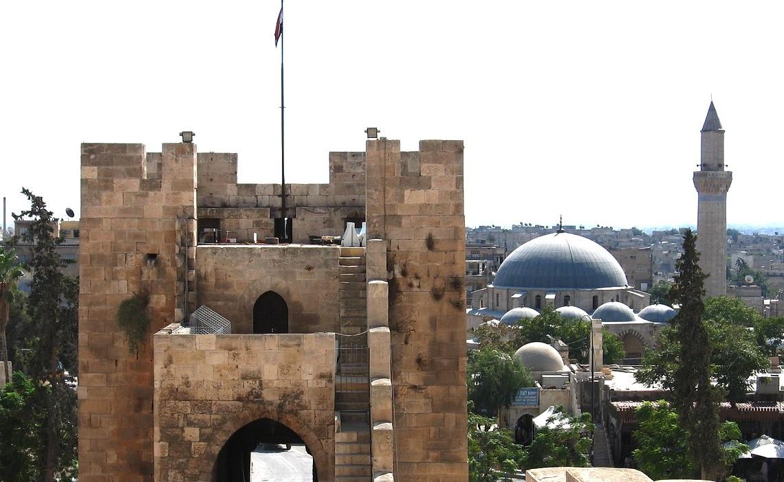 Цитадель Алеппо, Сирия