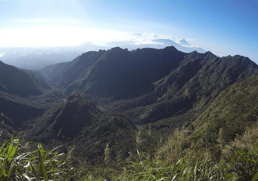 гора исарог нага Филиппины