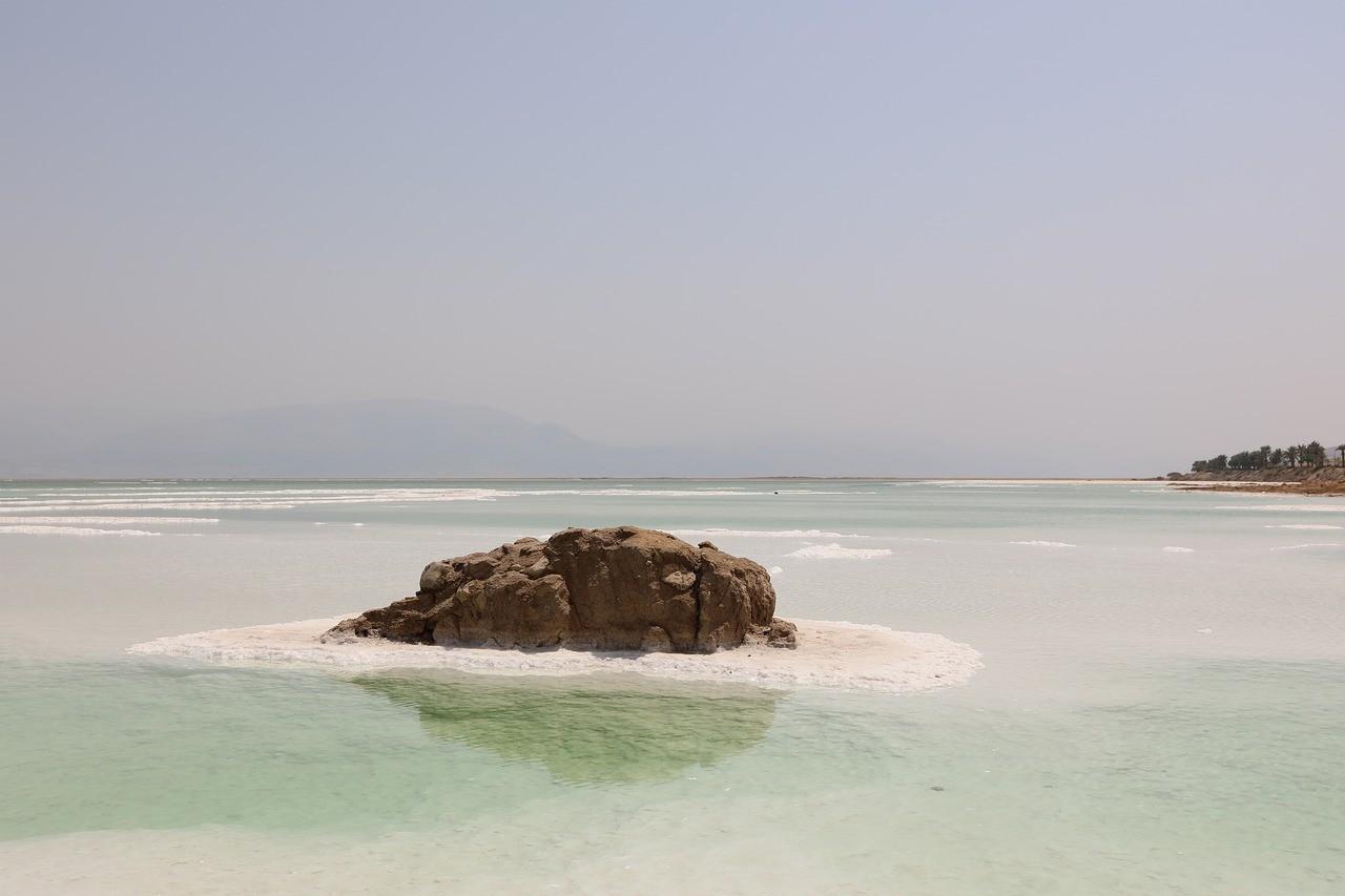 Мертвое море, Иордания, Израиль и Палестина