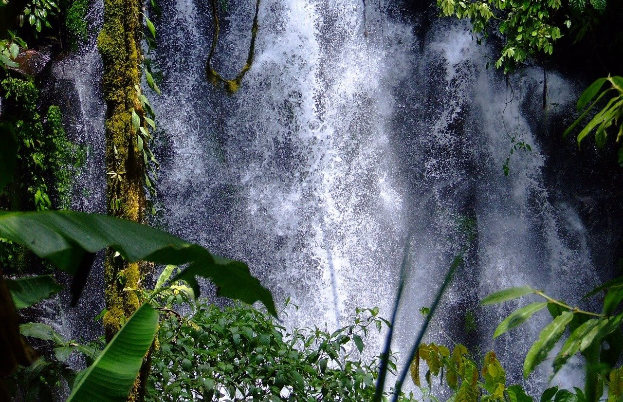 водопад, филиппины